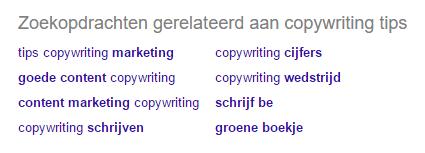 effectieve webteksten schrijven
